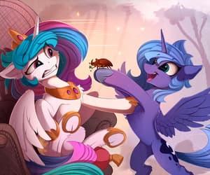 MLP, my little pony, and celestia image