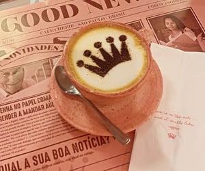 coffee, latte, and coffeeart image