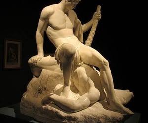 minotaur, greek mythology, and theseus image