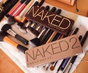 Brushes, makeup, and urban decay image