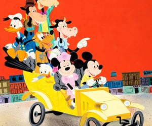 1950s, donald duck, and illustration image