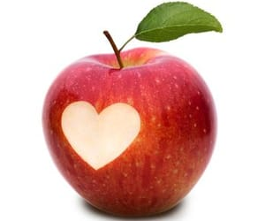 apple, confused, and romance image