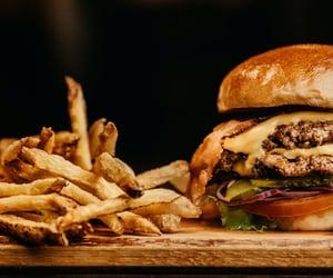 burgers, fast food, and food image