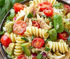 healthy, salad, and food image