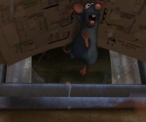 animation, anime, and ratatouille image