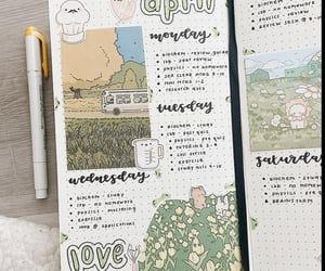 april, green, and inspiration image