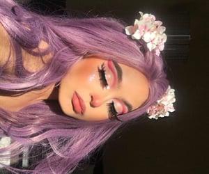 makeup, girl, and cute image
