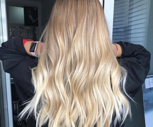 blond, blonde, and hair image