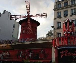 art, france, and landmark image