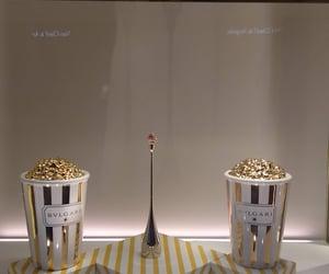 bulgari, earrings, and gold image