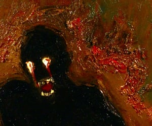 art, nightmare, and painting image