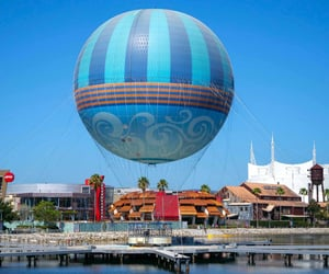 balloon, restaurant, and shopping image