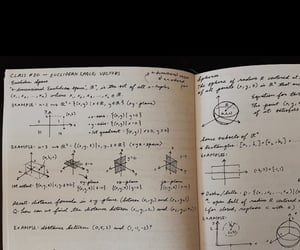 notebook, notes, and pen image