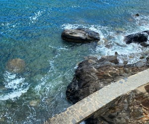 plage, vacances, and collioure image