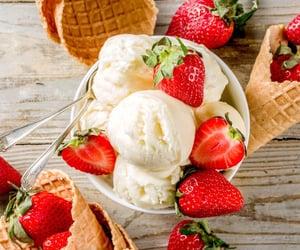 dessert, food, and ice cream image