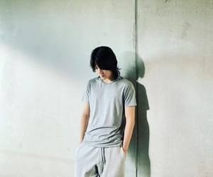 long hair, nakamoto yuta, and nct image