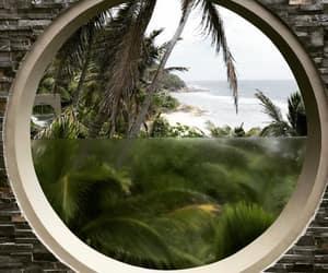 beach, chic, and garden image