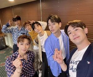 hwang chansung, jang wooyoung, and kpop image