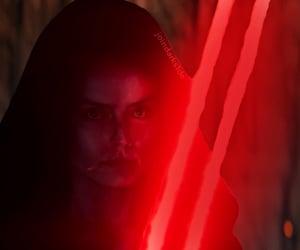 star wars, rey, and dark side rey image