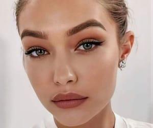 aesthetic, earrings, and eyes image