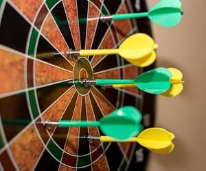 bullseye, dart, and darts image