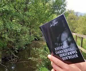 dark, book, and livro image
