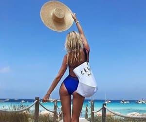 bikini, summer girl pretty, and summer body bikini image