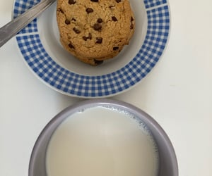 Cookies, lait, and milk image