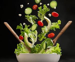 flying lettuce image
