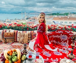 blonde, istanbul, and turk image