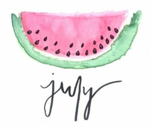 text, words, and hello july image