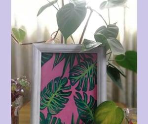 acrylics, greenery, and learner image