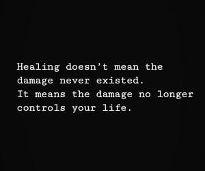 damage, healing, and life image