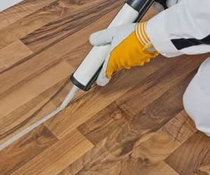 flooring services near me, floor polishing services, and wood flooring cardiff image