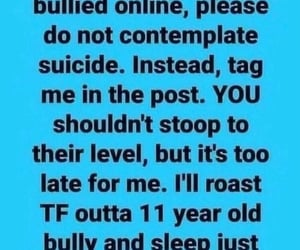 bully, hehe, and hilarious image