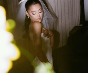 bride, ariana grande, and arianators image