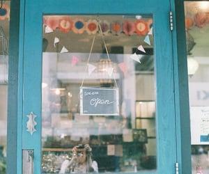 vintage, shop, and blue image