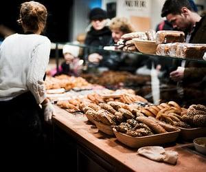 bakery, food, and indie image