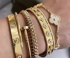 bracelet, van cleef & arpels, and cartier image