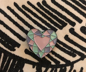 <3, brooch, and collection image