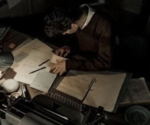 aesthetic, study, and dark academia image