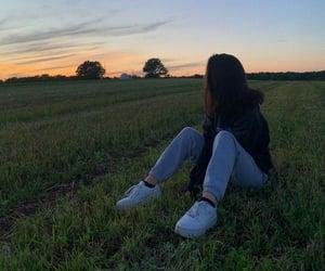 back, reflections, and sadness image