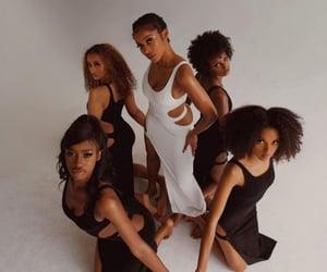 black, girls, and skin image