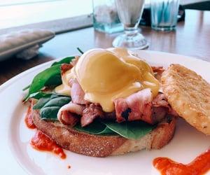 aesthetics, bacon, and breakfast image