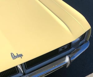 aesthetic, dodge, and light yellow image