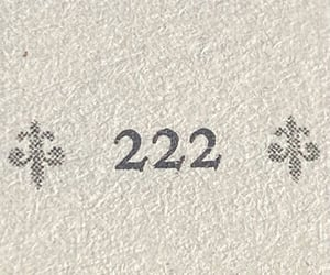 magic, numerology, and 222 image