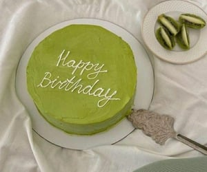 cake, green, and lime image
