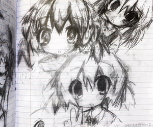 anime, archive, and drawing image