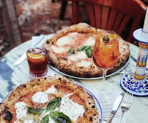 pizza, food, and italian image