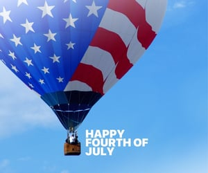 aesthetics, hot air balloon, and independence image